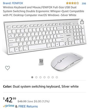 Wireless Keyboard & Wireless Mouse for Sale in Rosemead, CA
