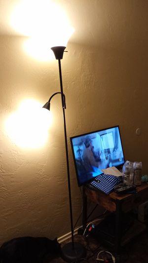 2 IKEA BLACK FLOOR LAMPS for Sale in San Diego, CA