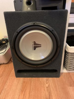 JL audio 10 inch speaker for Sale in Gilroy, CA