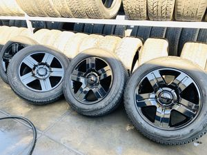 GMC/Chevy Wheels and tires for Sale in Dinuba, CA