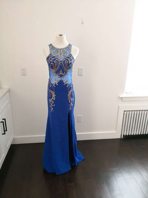 New Sz10 Royal Blue Beauty Pageant Formal Dress for Sale in Jersey City, NJ
