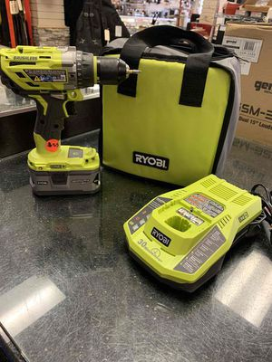 Ryobi P251 Drill w/ 18V Battery & Charger for Sale in Pomona, CA
