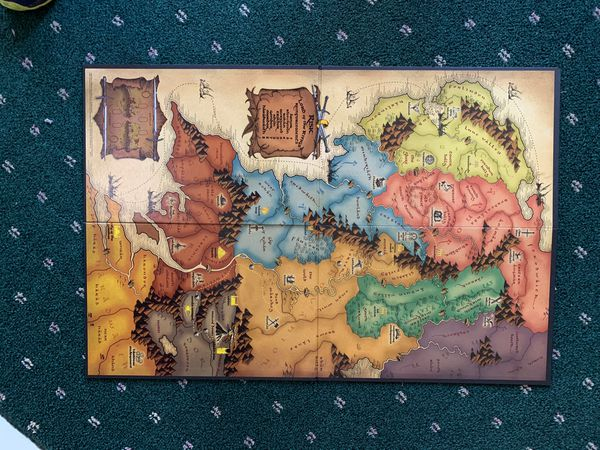 Lord of the Rings Risk Boars Game