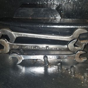 3 OPEN END ANGLE HEAD USA MADE WRENCHES - MATCO, PROTO & MARTIN TOOLS for Sale in Hurst, TX