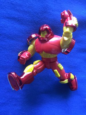MARVEL COMICS collectables / Marvel Iron Man in Heavy duty armor for Sale in Lincolnia, VA