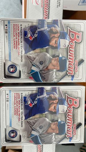 Bowman baseball cards (2020) for Sale in Fresno, CA