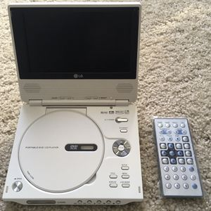 "LG Portable DVD and MP3 Player - 7"" LCD Screen for Sale in San Jose, CA"