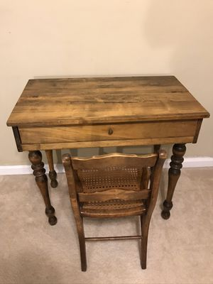 Antique desk and chair for Sale in Sugar Hill, GA