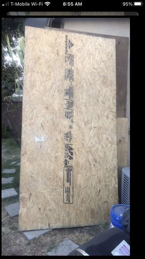 7/16 OSB plywood for Sale in Rancho Cucamonga, CA