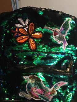 Reversible Sequin Hummingbird Backpack for Sale in Kirkland,  WA