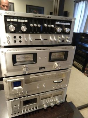 Vintage Marantz Stereo Components Amp Preamp Cassette Tuner for Sale in Henderson, NV