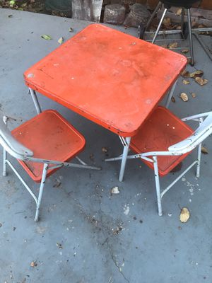 Vintage kids table chairs for Sale in Arcadia, CA