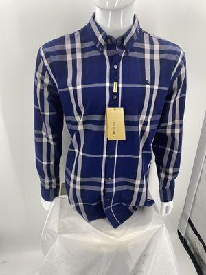 10 Burberry shirts xl BNWT custom order for Sale in Sacramento, CA