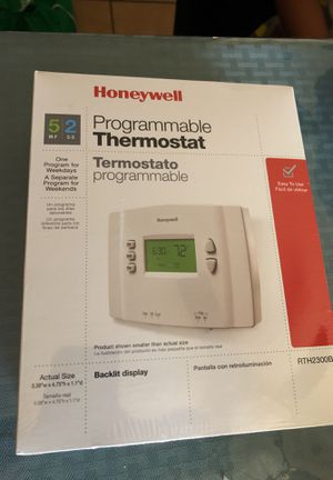 Honeywell thermostat programmable for Sale in Galt, CA
