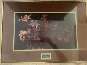 Framed Picture of Flowers by Alan Krosnick for Sale in Scottsdale, AZ