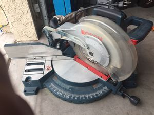 Bosch miter saw for Sale in Newport Beach, CA