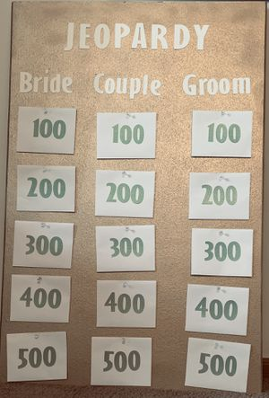 Bridal Jeopardy Wedding/Bridal Shower Game for Sale in Westerville, OH