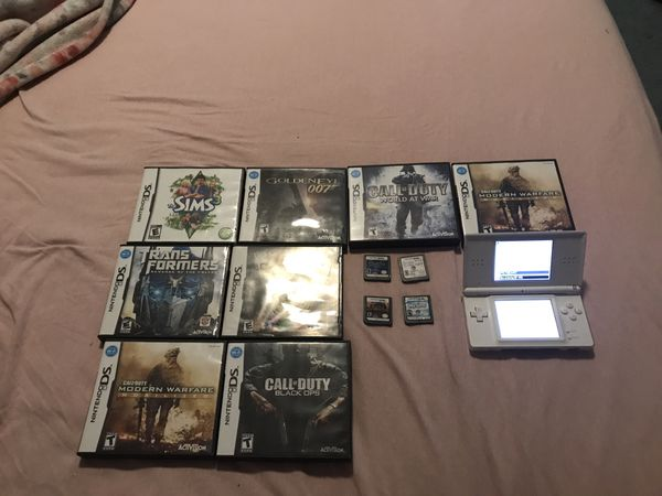 Nintendo DS lite and DS game lot