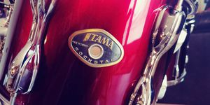 Priced to move!! Tama Rockstar, Vintage Red, 4-piece shell pack--mint condition! for Sale in Williamstown, NJ