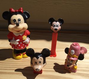 Vintage Disney Mickey & Minnie Mouse Lot / Bundle for Sale in Fresno, CA