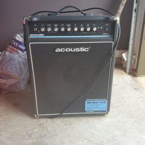 Accoustic 100 Watt 1x15 Amp for Sale in Baytown, TX