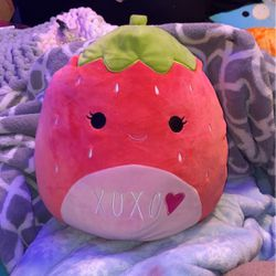 Scarlet valentine's day strawberry squishmallow for Sale in Bellevue,  WA