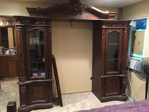 Ornate Entertainment Console for Sale in Bloomington, MN