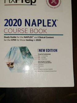 2020 Rxprep NAPLEX book for Sale in Houston,  TX
