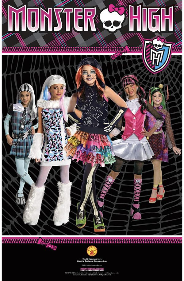 Rubies Monster High Deluxe Frankie Stein Costume - Large