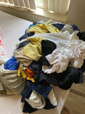 Pile of clothes for boys under 11 for Sale in Santa Ana, CA