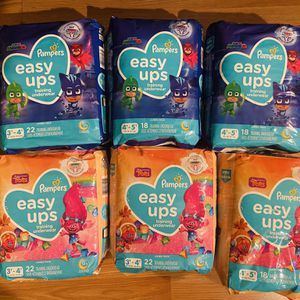 Papers easy ups $6 each 3t-4t And 4t-5t for Sale in Vernon, CA