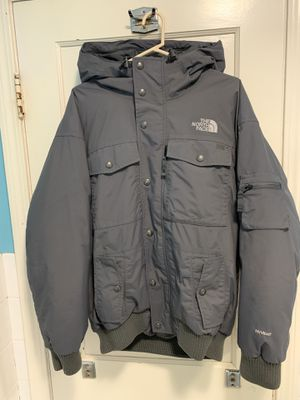 Men's Size L North Face Jacket w/ Faux Hoodie for Sale in Medford, MA