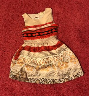 Moana Toddler dress size 2t for Sale in Orlando, FL