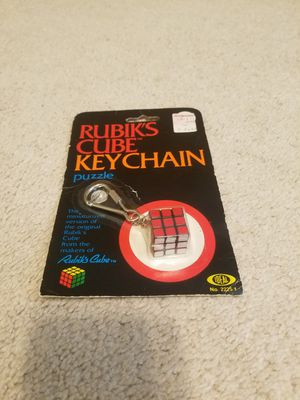 Vintage 1982 Rubik's Cube Keychain for Sale in Bloomington, IL