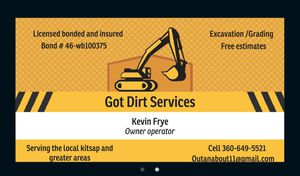 Excavation and grading for Sale in Port Orchard, WA