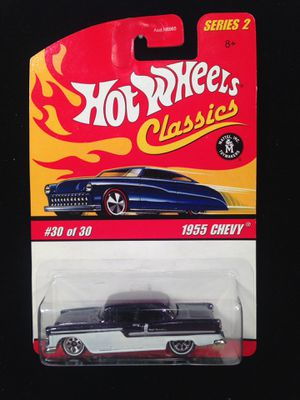 Hot Wheels Classics Series 2 1955 Chevy • Production Error • Reversed In Blister for Sale in Keller, TX