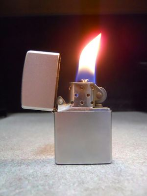 Zippo Satin Finish Lighter F 2009 USED for Sale in San Fernando, CA