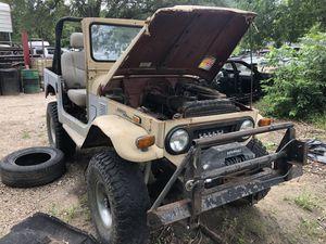 73 Toyota FJ40 for Sale in Stafford, TX