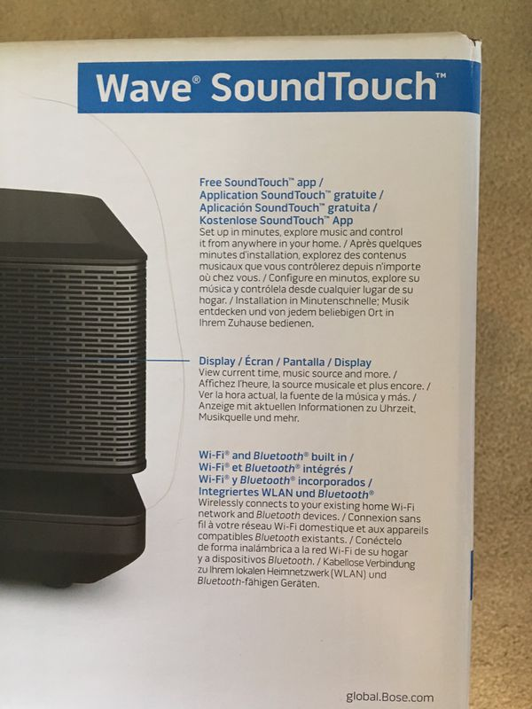 Bose wave sound touch music system 4
