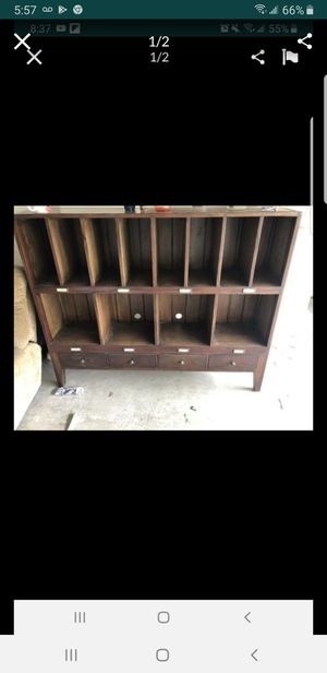 Bar, etagerie, record holder, shelving, shelf, books, storage for Sale in San Diego, CA