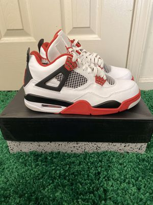 NIKE AIR JORDAN 4 FIRE RED OG SIZE 8 WORN ONCE for Sale in Oxon Hill, MD