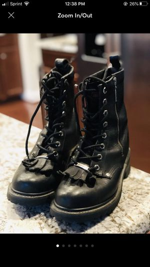 Harley Davidson Women's Oxford Fringe Boots Sz 8.5 for Sale in Clarksville, MD