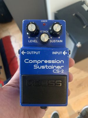 Compression Sustainer Cs-2 Guitar Pedal for Sale in Monrovia, CA