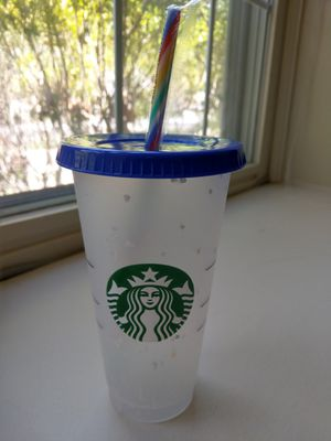 Starbucks confetti color changing cup BRAND NEW for Sale in Rockville, MD