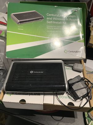 CenturyLink modem and wireless router for Sale in Crofton, MD