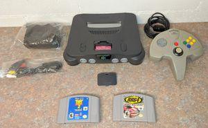 Nintendo 64 w\ 2 Games & New Cables & Super Pad for Sale in Orlando, FL