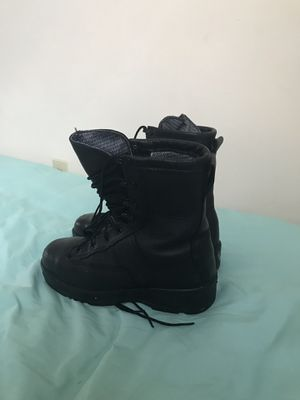 Steel Toed Black Work Boots (navy authorize) for Sale in Norfolk, VA