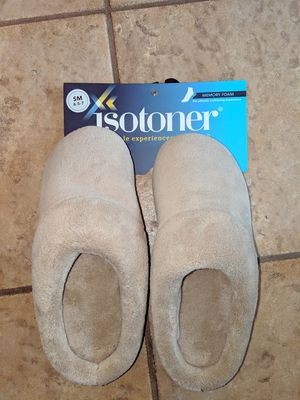 New Isotoner Slippers - Size 6.5-7 for Sale in Fontana, CA