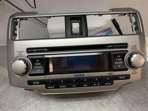 Toyota 4 runner OEM Car Radio Receiver Manufacturer Part Number: 86120-35490 Color: Silver Black Brand: Toyota for Sale in Phoenix, AZ