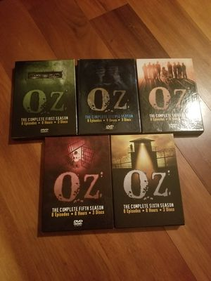 Oz Boxed Sets on DVD [S 1-3, 5-6] for Sale in Portland, OR